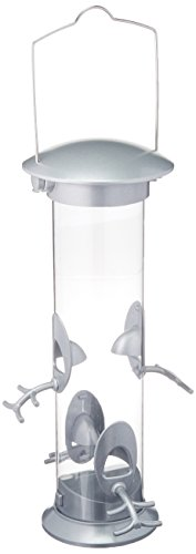 Gardman BA01601 Large Heavy Duty Swivel Top Seed Bird Feeder, 6.3'' Wide x 16'' High by Gardman