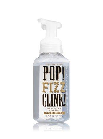 Bath & Body Works Gentle Foaming Hand Soap Pop Clink Fizz Sparkling Icicles