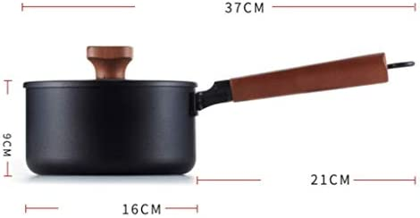 SXWGX Vieux pot de cuisine antiadhésif Poêle à soupe groupe induction cuisinière à gaz
