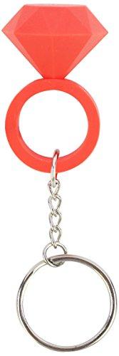 Doiy Diamond Keyring Mint - Keychain (Red)