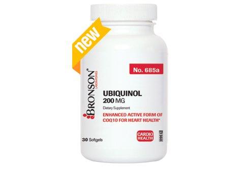 Bronson Ubiquinol Enhanced Active Softgels