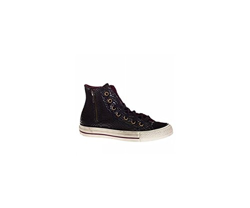 prices buy cheap professional Converse High top Shoes HI Side Zip Suede PITONATA in pitonata Leather 141240C Black 0F95kSsGim