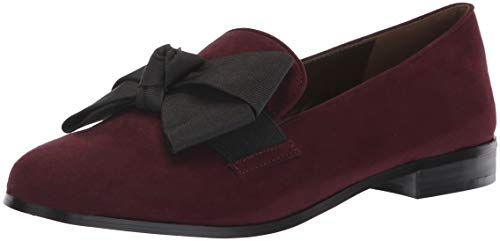 Bandolino Women's LOMB Loafer Flat, Sangria, 8.5 M US