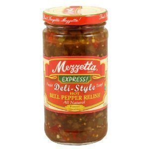 Mezzetta Express Deli-Style Zesty Bell Pepper Relish, 12 Fluid Ounce by Mezzetta