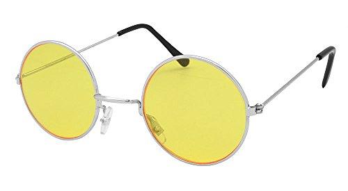 Yellow Lennon Round - Glasses John Yellow Lennon