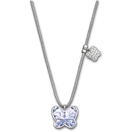 Swarovski Buttefly Mini Provence Lavender Pendant ()