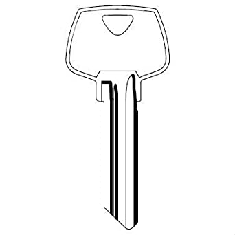 Factory Original Sargent 6 Pin Key Blank 6270 LD Keyway Pkg of 10