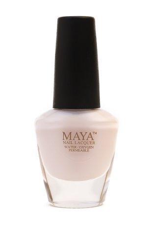 MAYA Cosmetics Nail Polish, Seashell, 0.4 oz ()