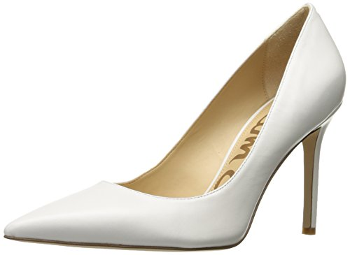 Sam Blanc Edelman Bright Hazel White Femme Escarpins Leather IOBSrHqIw