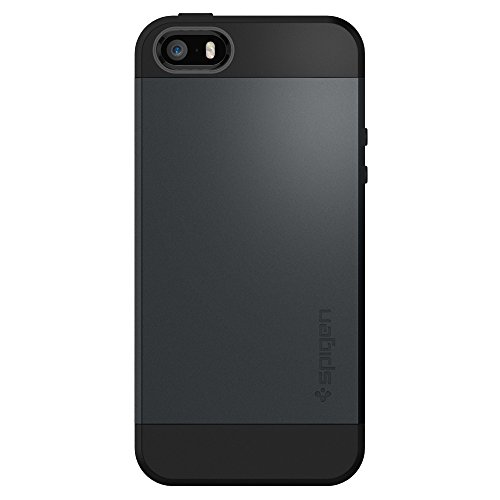 b65db87ce3 Amazon.com: Spigen Slim Armor Designed for Apple iPhone 5S Case (2013) /  Designed for iPhone SE Case (2017) / Designed for iPhone5 Case (2012) -  Metal ...