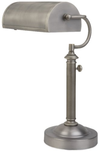 Verilux Princeton Natural Spectrum Desk and Table Lamp, Antiqued Nickel ()