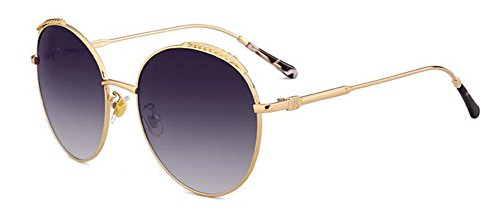 en polarisées cercle métallique inspirées soleil vintage retro du rond B de lunettes style Lennon TZ6RxpTw