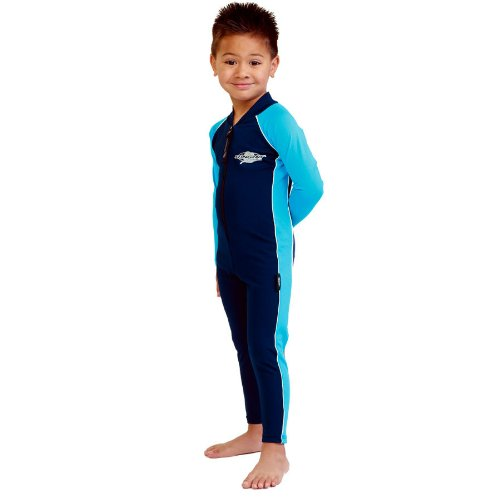 UV Sun Protection Full Body Coverage Swimsuit for Boys & Girls-SPF Protective 1-piece suit - Long sleeve, Long leg Swimwear -Size - Sports Suits Australia