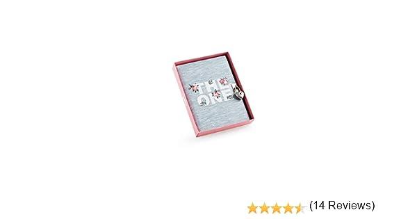 MIQUELRIUS 7140 - Diario íntimo con candado, Rosas: Amazon.es: Oficina y papelería