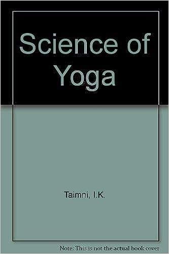 The Science Of Yoga The Yoga Sutras Of Patanjali In Sanskrit Taimni I K 9788170590019 Amazon Com Books