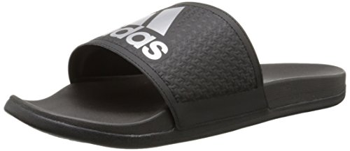 adidas Men's Adilette SC Plus SU M Sandals,Black/Silver/Black,12 M US