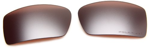 Oakley Gascan 16-471 Polarized Rimless Sunglasses,Multi Frame/VR28 Black Lens,One - Sunglasses Vr28