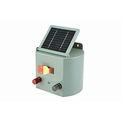 Solar Powered Electric 5 Mile Horse Fence Charger New