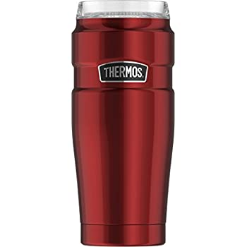 35e7d956817 Thermos Stainless King 20 oz Travel Tumbler with 360 Degree Drink Lid,  Cranberry