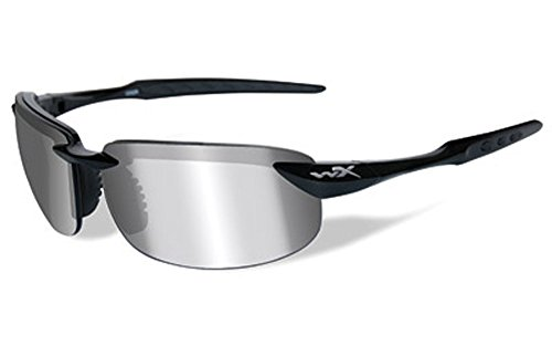 Wiley X Tobi Black Ops Polarized Smoke Grey Gloss Tactical Sunglasses