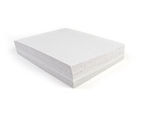 Bloomin Premium 12 pt. Seed Paper for Inkjet Printers - 75-90% Germination Rate - 8.5x11 Sheets (1 Pack- 100 Sheets) by Bloomin (Image #7)