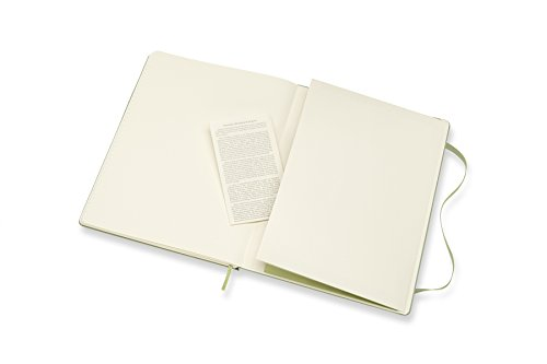 Moleskine Classic Notebook XL Ruled Willow Green Hardcover (8055002855143) Photo #4