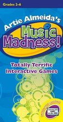 Music Madness!: Totally Terrific Interactive Games (General Music, IWB Software CD)