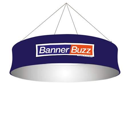 Amazon.com: BannerBuzz - Cartel de tela con círculo cónico ...