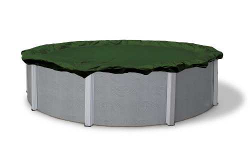 Blue Wave Silver 12-Year 12-ft Round Above Ground Pool Winter (Arctic Round Pool Cover)