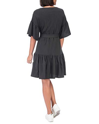 Angel Bobeau Black Cotton Washed Bobeau Angel Washed Cotton Washed Washed Black Dress Dress A7Cnqwx5Y