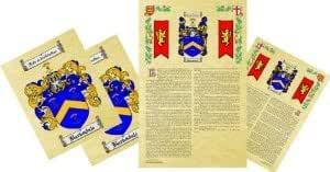 Winfree Coat of Arms, Family Crest & History Combo