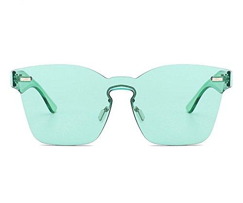 non Huateng UV400 lunettes mode Lunettes polarisées soleil carrées Grün de de intégrées classique OfA1qfU
