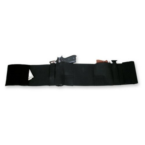 Bulldog Cases Medium Concealment Deluxe Belly Wrap Holster (Fits 32-Inch - 38-Inch Waist)