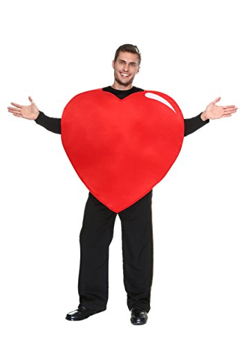 Fun Costumes Adult Red Heart Exclusive Tunic Costume Standard