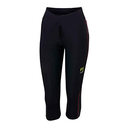 Karpos Quick Evo 3/4 Pant Women - Black/pink Fluo