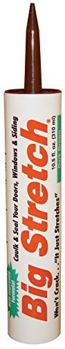 Acrylic Rubber Big Stretch (Big Stretch Acrylic Chank Rubber Sealant (Pack of 12) by Sashco)