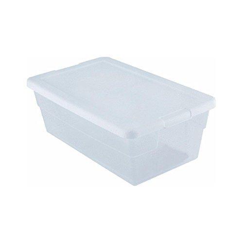 Sterilite Storage Box 13.5 X 8.3 X 4.8, 6 Qt. Clear - Pack of 2