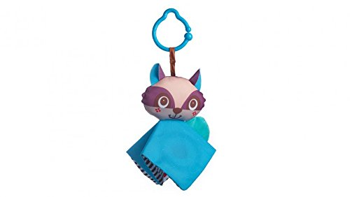 Crinkly Raccoon 33311110 Tiny Love Clip on Toy