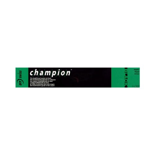 DT Swiss Champion 2.0 x 258mm Black Spokes. Box of 72