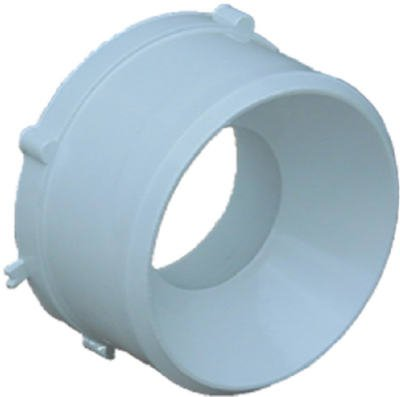 (Genova Products 40241 Sewer Drain Styrene Adapter Bushing, 4-In. Spigot x 1-1/2-In. Hub - Quantity 10)