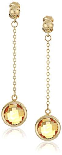 Citrine Briolette Earrings - 5