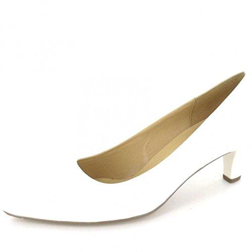 Gabor , Escarpins pour femme blanc weiss+Absatz