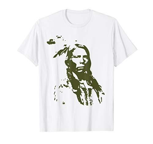 Indian Horse T-shirt - Lakota Sioux Native American Indian Pride Warrior History