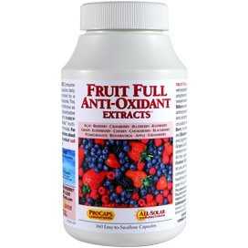 Fruit Full Anti-Oxidant Extracts 60 Capsules
