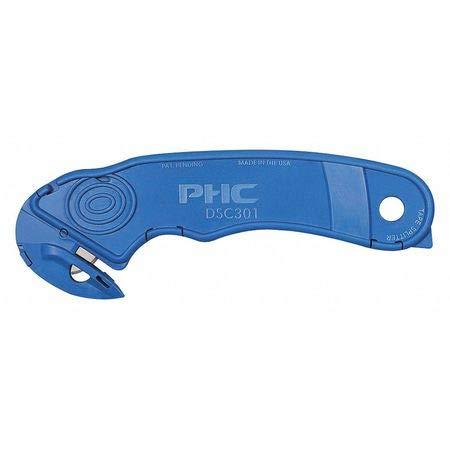 DSC-301 Multi-Purpose Disposable Safety Cutter, Blue, PK15