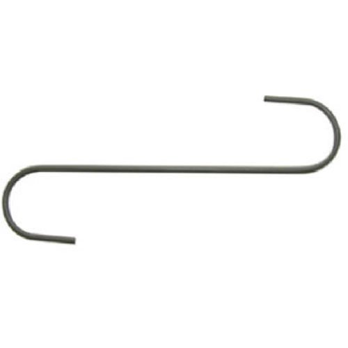 Panacea 89014 Garden S Hook, Black, 12-Inch, Pack of ()