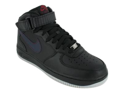 Nike Air Force I Mid Premium Negro 43 eUDL3LuP