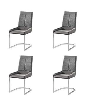 Muebles La Factoría - Pack 4 SILLAS Oakland - Combinadas en ...