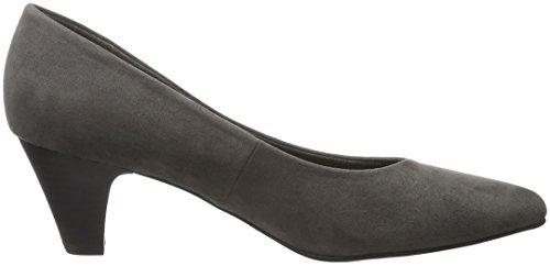 Marco Tozzi 22413, Zapatos de Tacón para Mujer, Gris (Grey 200), 36 EU