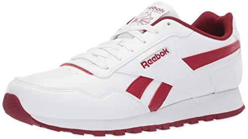 - Reebok Men's Classic Harman Sneaker, White/Triathlon red, 12.5 M US